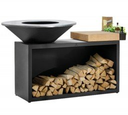 OFYR Island Black 100-100 rubberwood