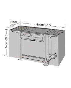 Garland barbecuehoes buitenkeuken 130 zilver