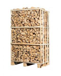 Pallet ovengedroogd essen haardhout